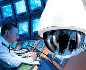 Установка охранного телевидения