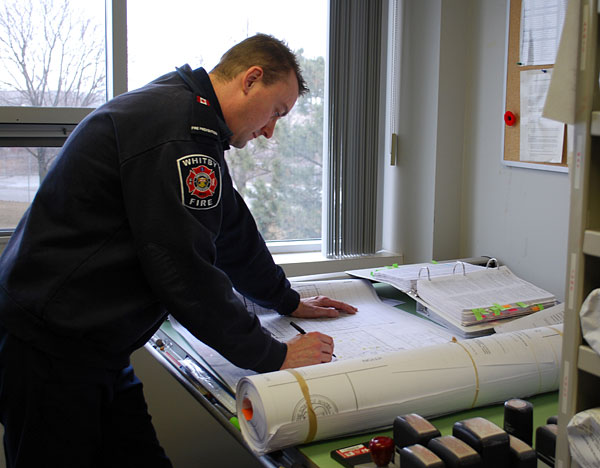 Draft fire alarm
