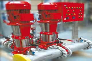 Насосы противопожарного водопровода